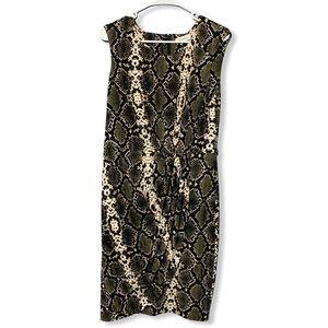 Calvin Klein Snake Skin Dress 8